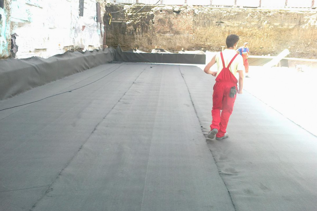 Waterproofing of foundations and basements
