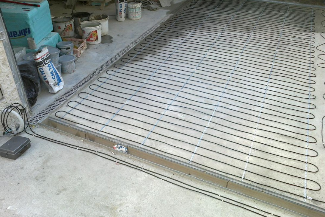 Heating of ramps